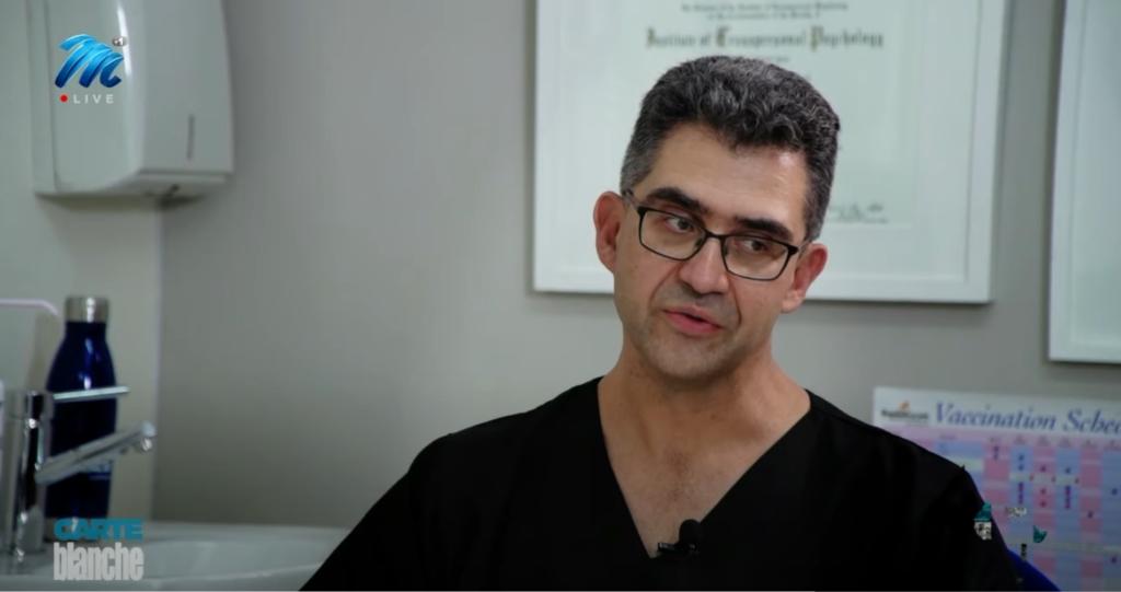 Dr Paul Freinkel talking Ivermectin on Carte Blanche